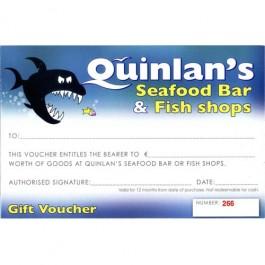 Seafood Vouchers